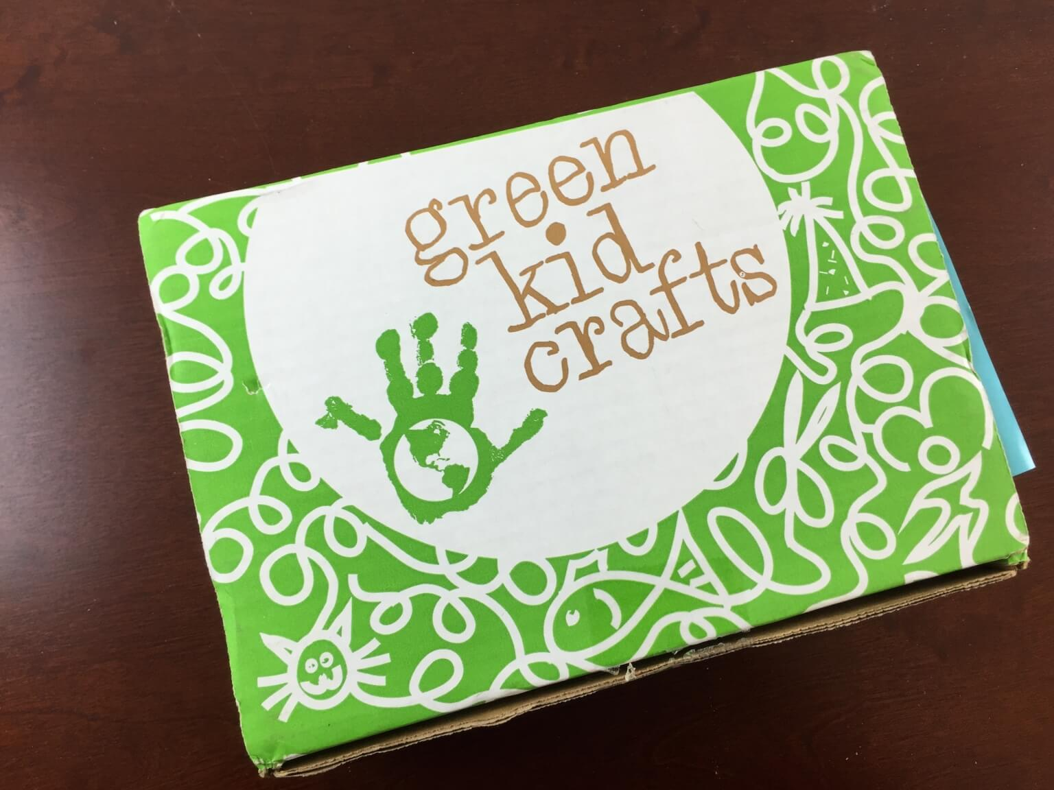 Green kid crafts hello subscription for Kid craft subscription box