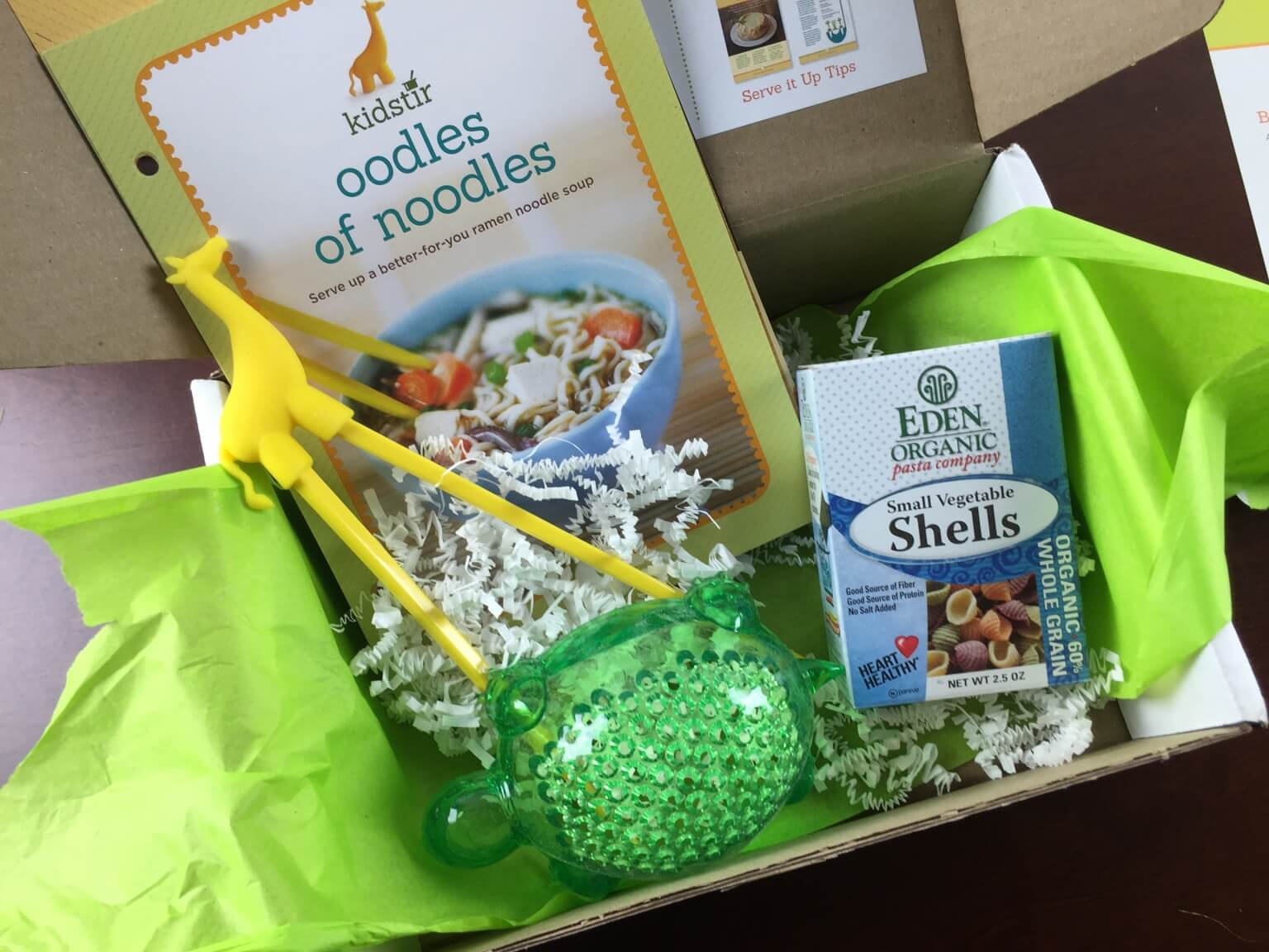 January 2015 Kidstir Review & $10 Coupon – Kids Cooking Subscription Box