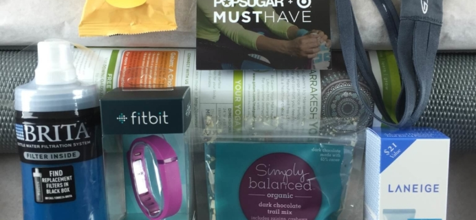 Popsugar + Target Must Have Box Review – Fit Fresh Fun in 2015