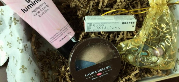 January 2015 Beauty Joy Subscription Box Review + Coupon