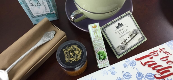 January 2015 Little Lace Box Subscription Box Review + $10 Coupon + Site back up!