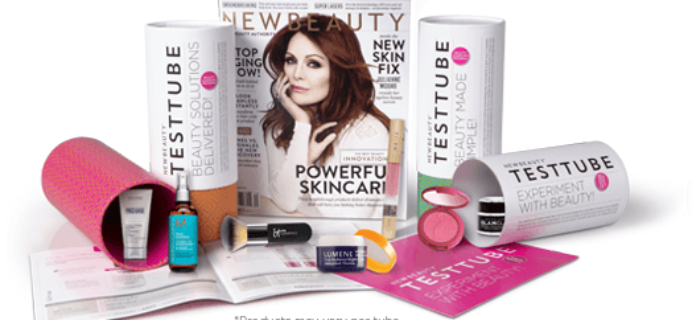 November 2017 New Beauty Test Tube Full Spoilers + Coupon