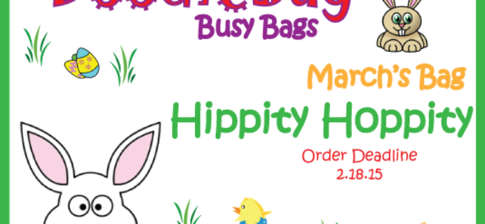 DoodleBug Busy Bags March Theme! Order by Feb 18