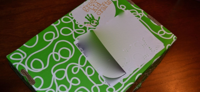 February 2015 Green Kid Crafts Subscription Box Review & Coupon