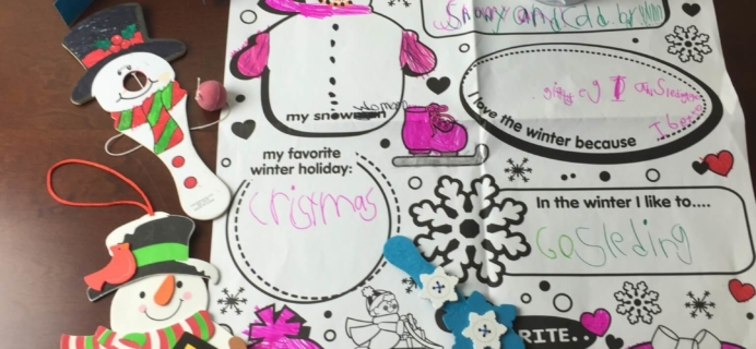 Doodlebug Busy Bags Kids Craft Subscription Review – January 2015