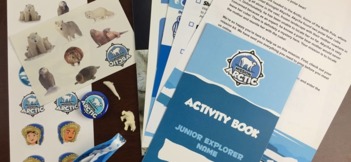 Junior Explorers Kids Subscription Review – Mission Arctic + 50% Off Code