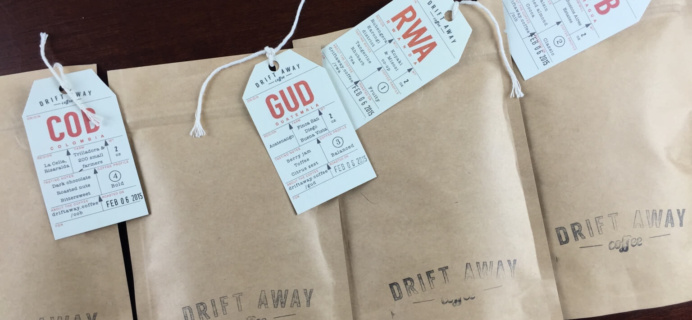 Drift Away Coffee Subscription Review