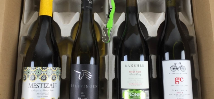 Plonk Wine Club Subscription Box Review – February 2015