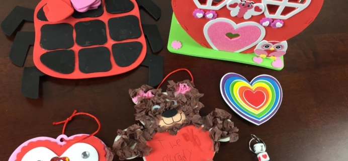 Doodlebug Busy Bags Kids Craft Subscription Review – February 2015
