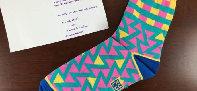 Say It With A Sock Subscription Review