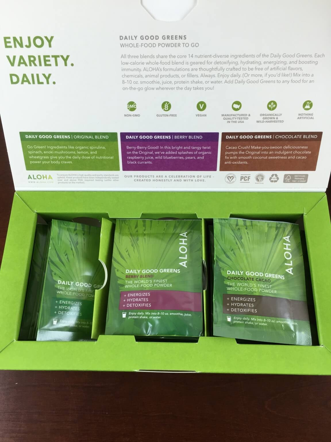 Aloha Daily Good Greens Review + Free Trial Offer