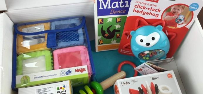 February 2015 Austin Lloyd Review – Premium Baby & Toddler Subscription Box