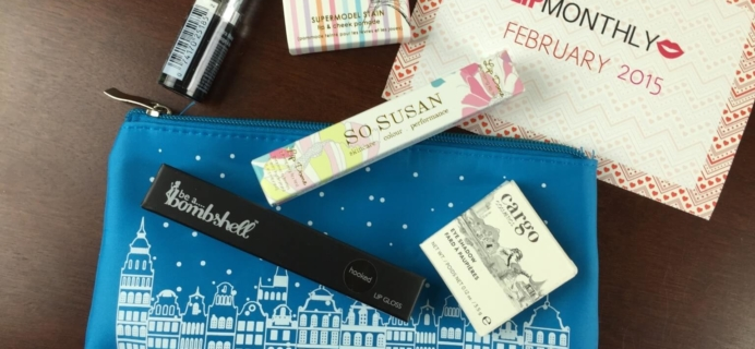 Lip Monthly Review – February 2015