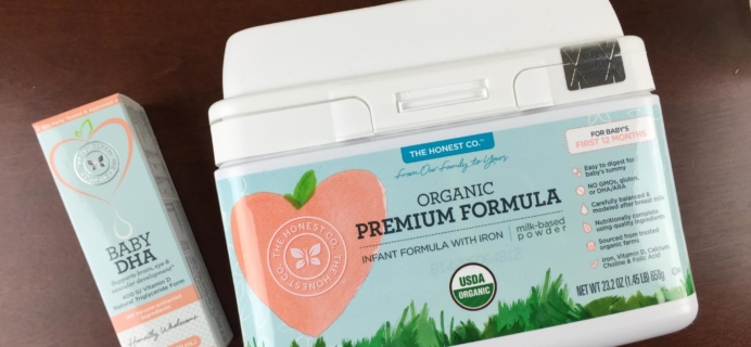 Honest Company Organic Baby Formula Review