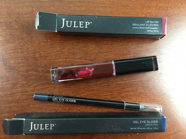 Julep Cupid's Mystery Clutch Review gloss eyeliner