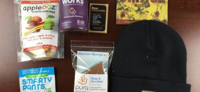February 2015 Women's PijonBox College Subscription Box Review + $10 Coupon #DeliverLove
