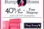 BumpBoxes Coupon: Save 40% off Maternity Subscription Box