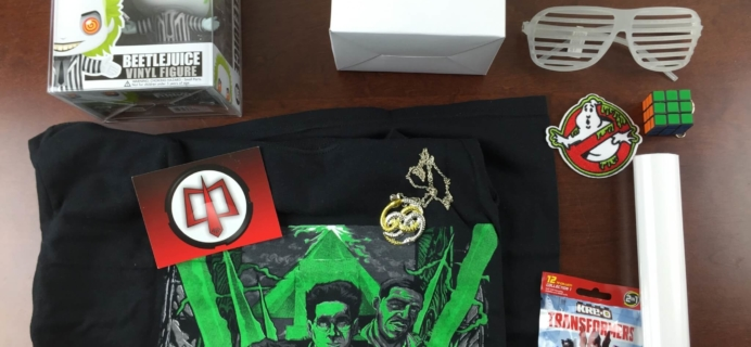 Collectible Geek Collector's Cache Subscription Box Review – March 2015