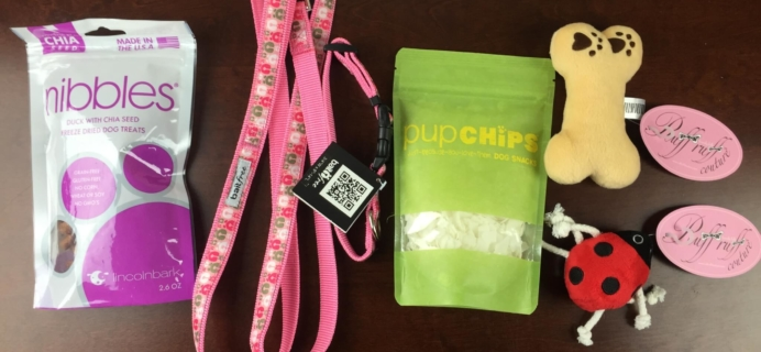PupJoy Review & Coupon – Dog Subscription Box – March 2015