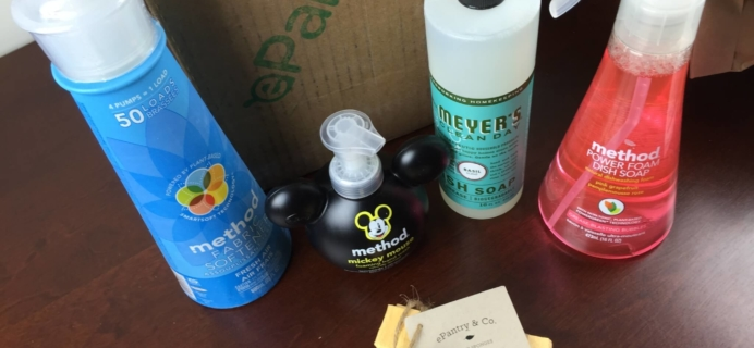 ePantry Review + $10 Discount – Eco-Friendly Subscription Box