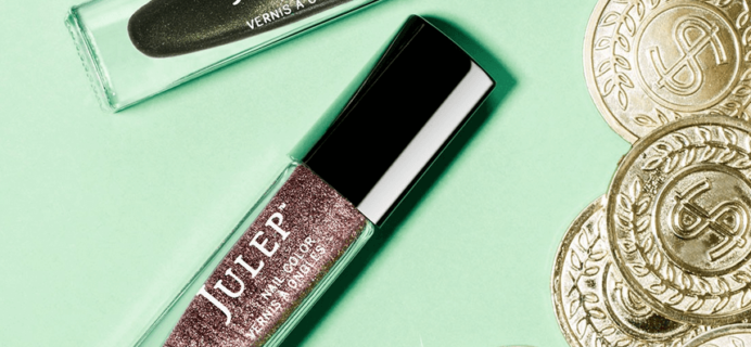 New Julep Mystery Box & Coupons: Lucky Mystery Box!