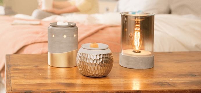 New Scentsy Warmers Perfect for Modern Home Decor!