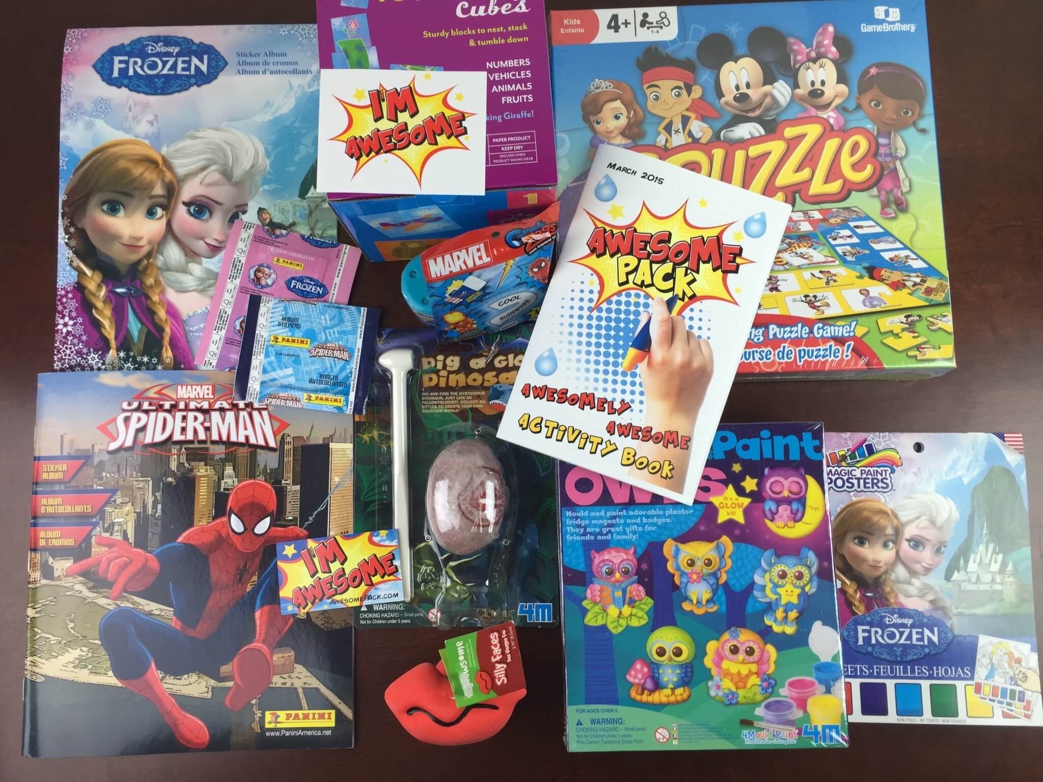 March 2015 Awesome Pack Subscription Box Review + Coupon