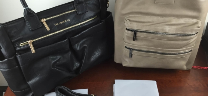 Honest Company Everything Tote + City Backpack Review
