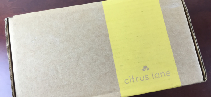 April 2015 Citrus Lane Baby Box Review & 30% Off + Bonus Item Code