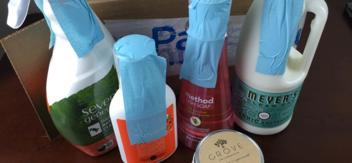 ePantry Subscription Box Review + $10 Coupon – Green Household Essentials