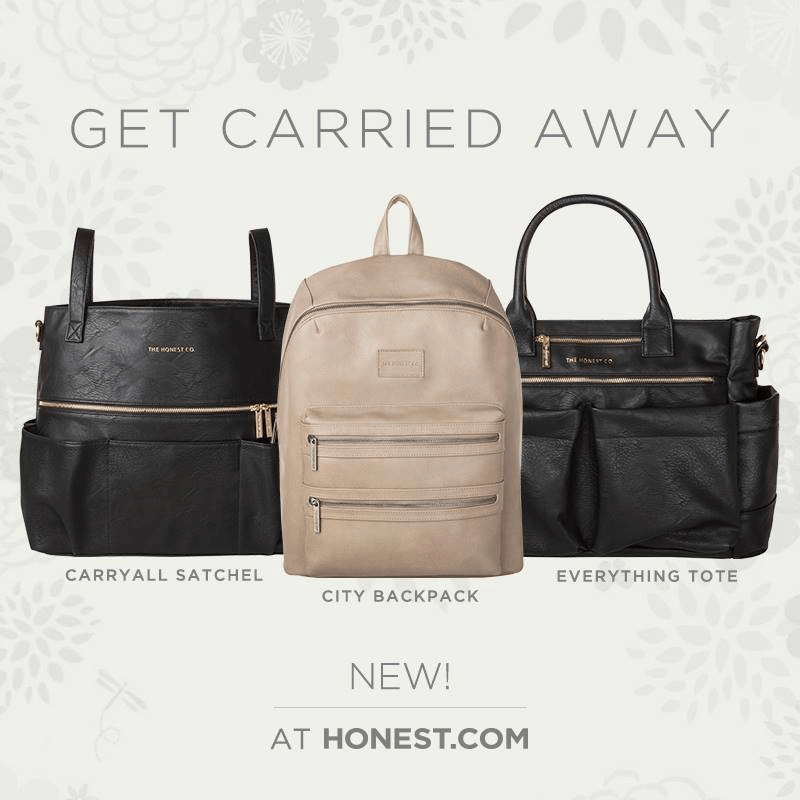 Honest Company Recently Released 3 Neat Additions To Their Line The Everything Tote 169 95 Carryall Satchel 179 And City Backpack