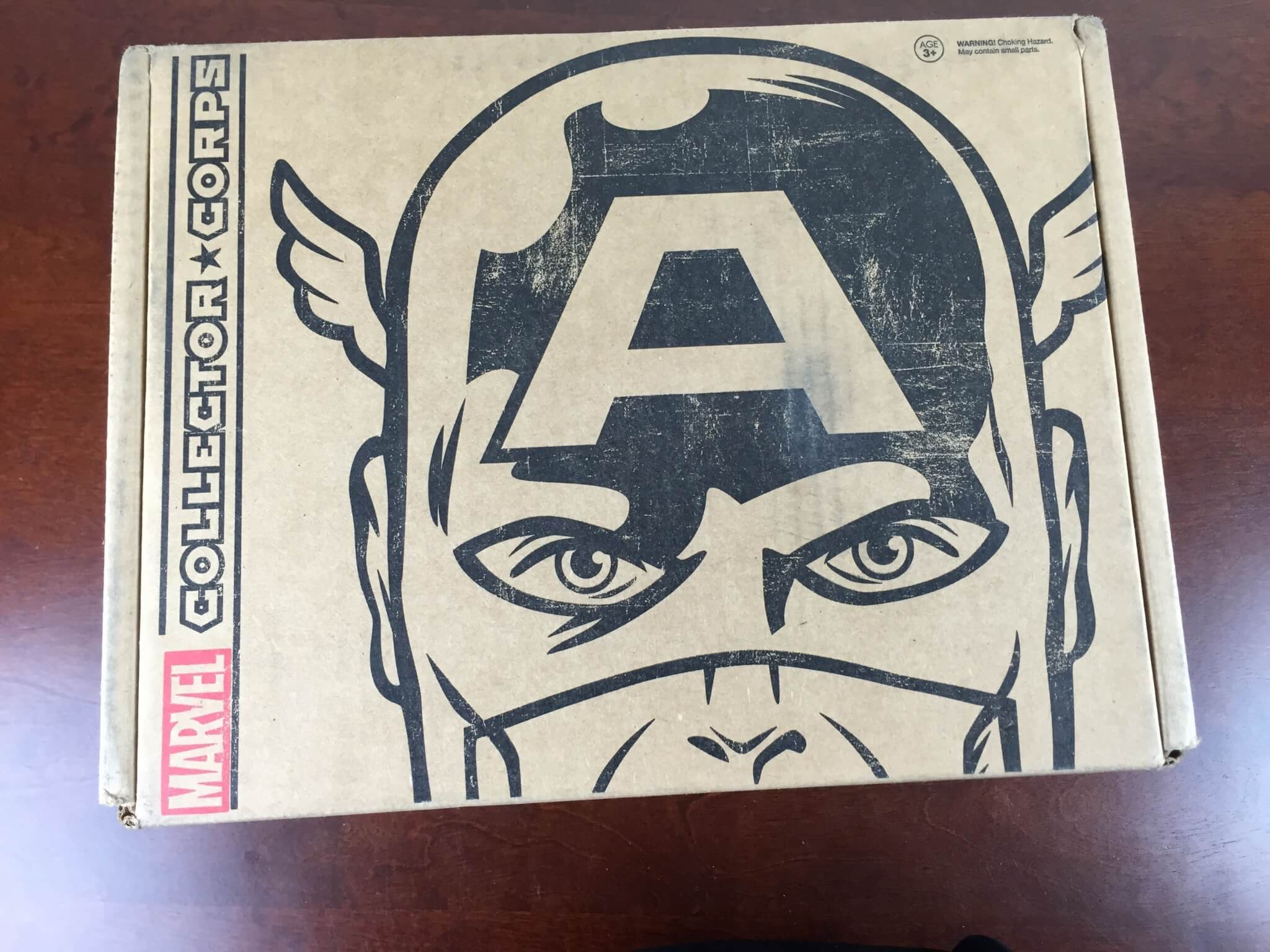 Marvel Collector Corps Subscription Box Review – April 2015