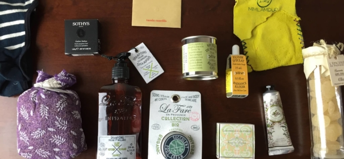 Oui Please Subscription Box Review: Vol 1.3 A Breath of Provence