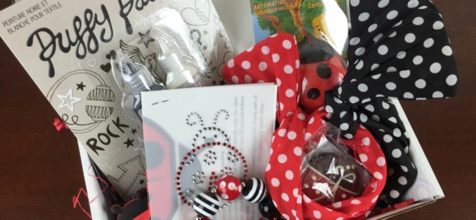 May 2015 Boodle Box Review – Girls Subscription Box