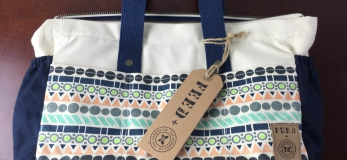 Honest Company x Feed Canvas Tote Diaper Bag Review