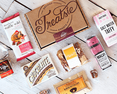Treatsie Subscription Box Deal on RueLaLa