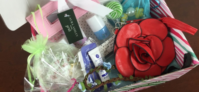 May 2015 PoshPak Girls Subscription Box Review