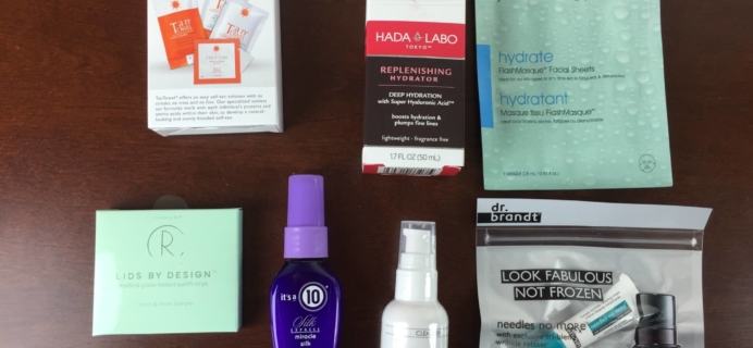New Beauty Test Tube April 2015 Review + Coupon + Giveaway