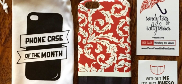 April 2015 Phone Case of the Month Subscription Review + Half Off Coupon