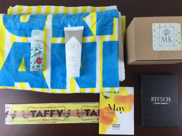 popsugar must have box may 2015