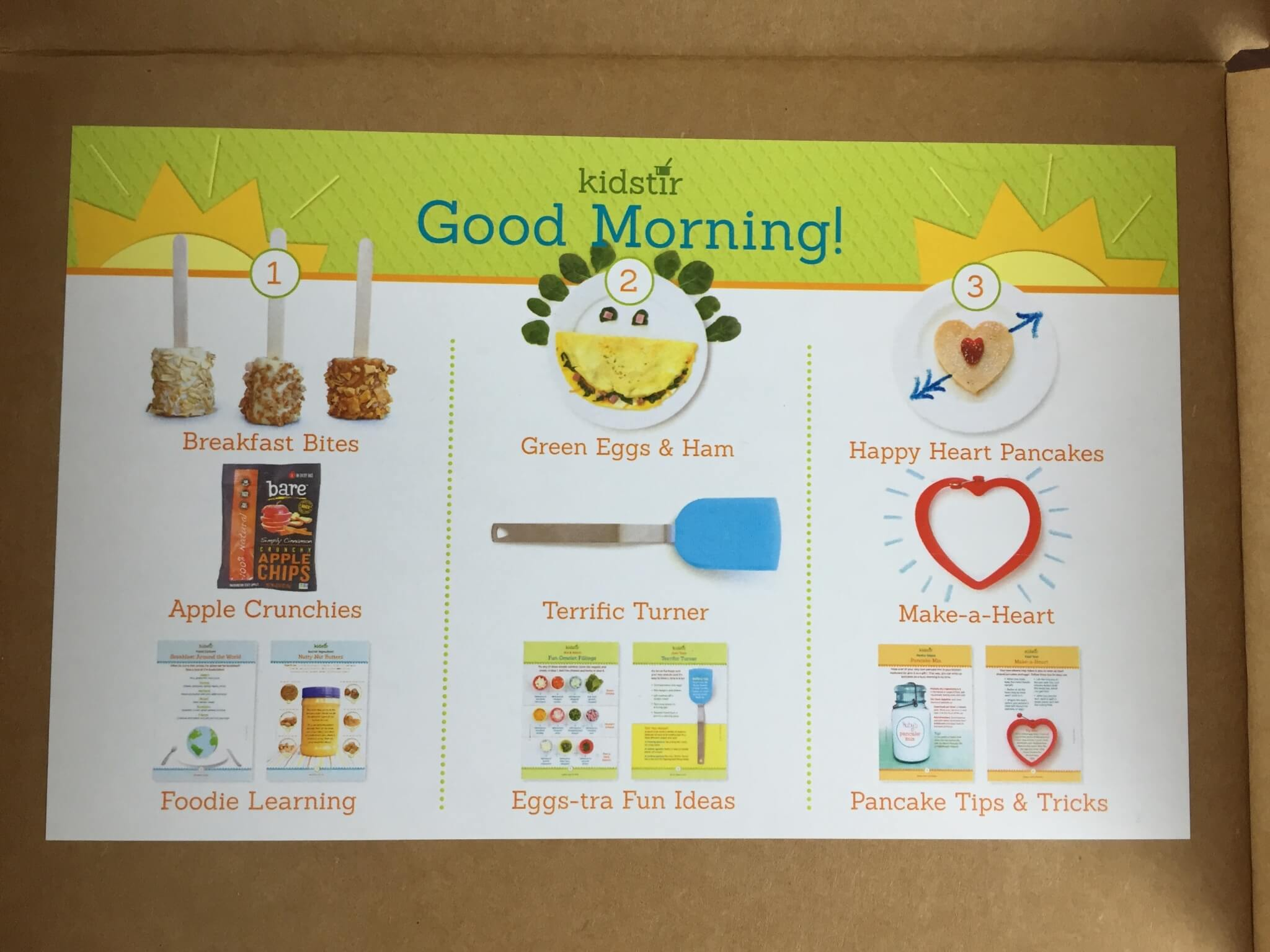May 2015 Kidstir Review – Kids Cooking Subscription Box