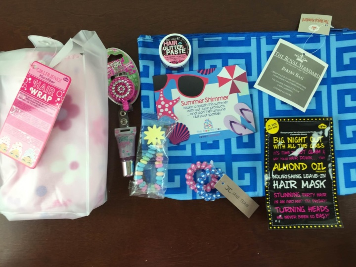 boodle box girls review june 2015