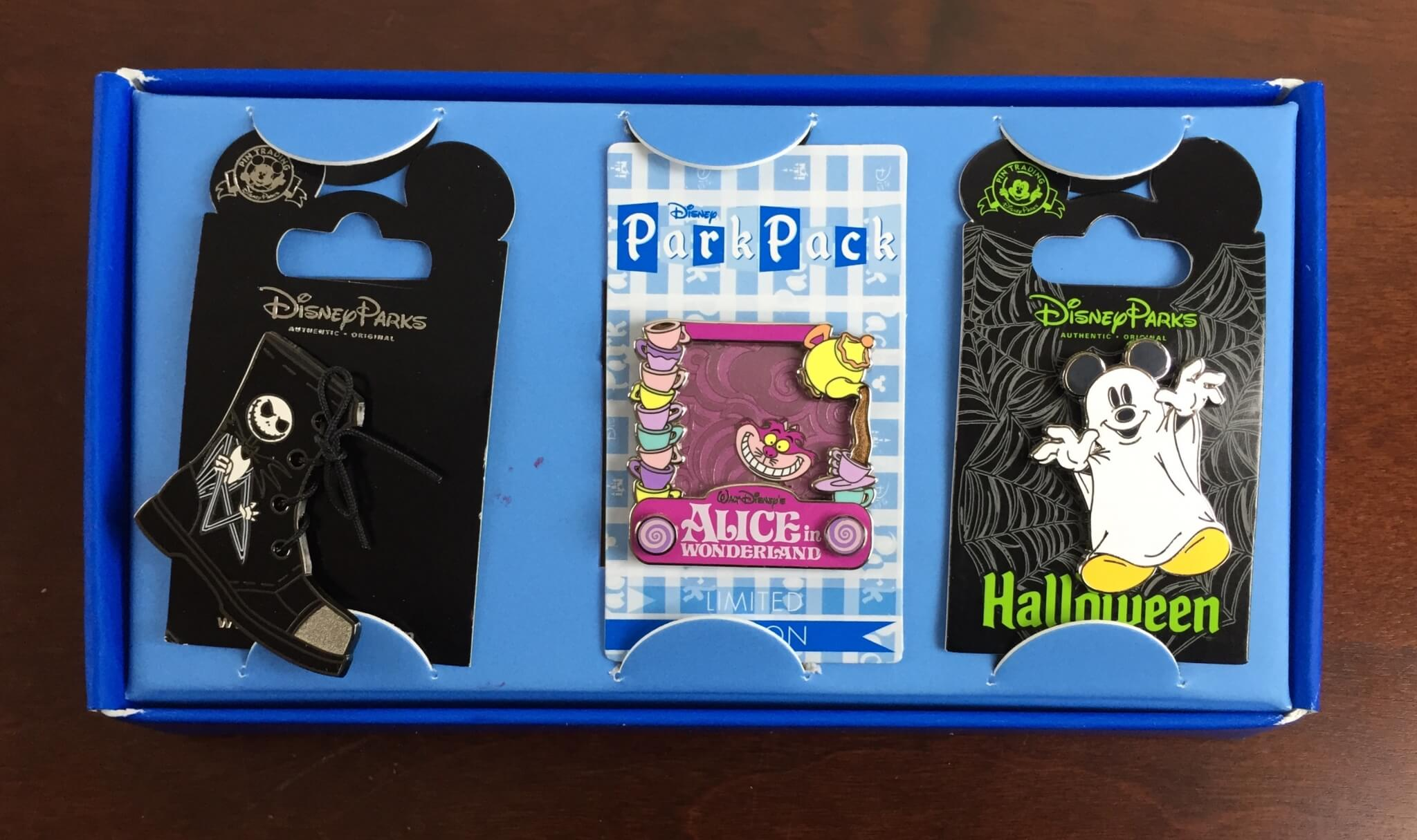 June 2015 Disney Park Pack: Pin Trading Edition Review