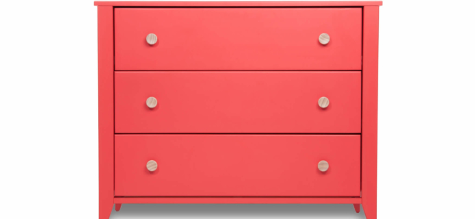 New Honest Company Cribs + Dressers Colors: Navy & Coral