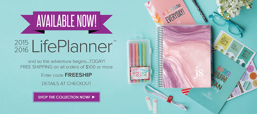Erin Condren 2016 New LifePlanners Available Now + Coupons + Giveaway!