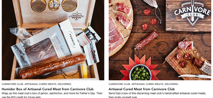 Carnivore Club Subscription Box Deal on RueLaLa!