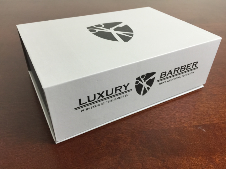 luxury barber box june 2015 review box