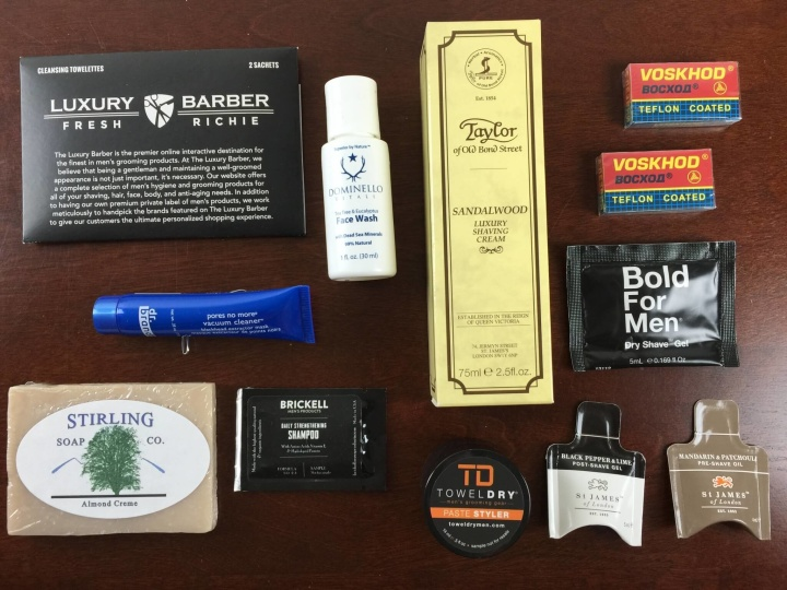 luxury barber box june 2015 review review