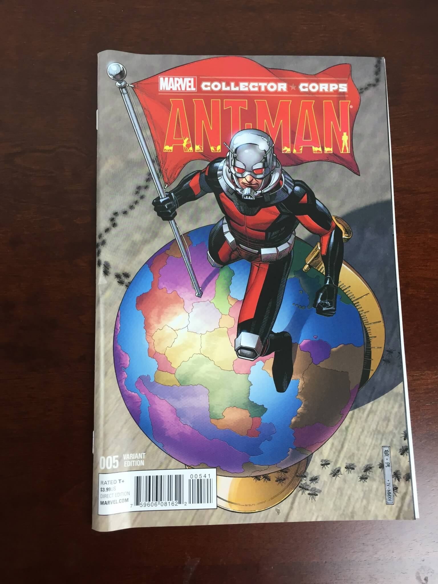 marvel collector corps june 2015 review comic