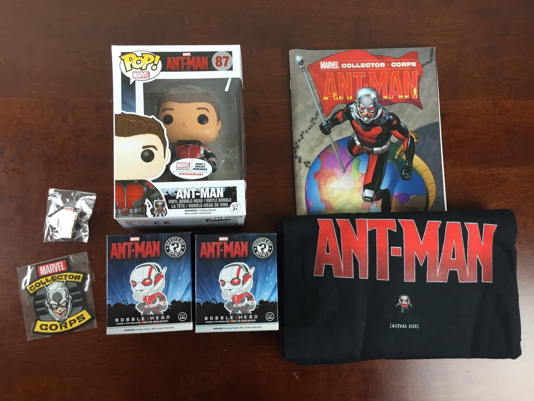 June 2015 Marvel Collector Corps Subscription Box Review: Ant-Man